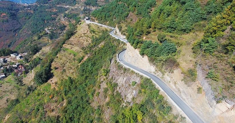 鲁甸8.03项目沙坝至小河公路